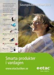 [PDF] Smarta produkter i vardagen - Etacbutiken