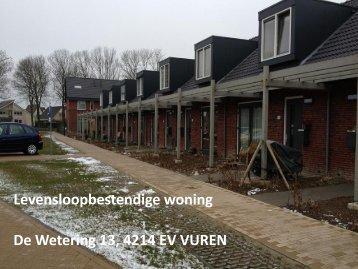 Levensloopbestendige woning De Wetering 13 ... - KleurrijkWonen