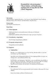 Protokoll fört vid styrelsemöte i Vikens Kultur- och Byaförening ...