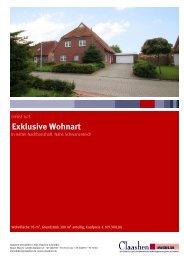 Exklusive Wohnart - Claashen Immobilien Norden