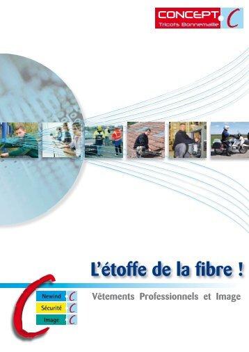 Catalogue l'Etoffe de la fibre - Concept-Tricots Bonnemaille