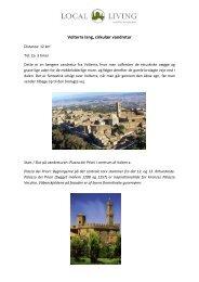 Volterra lang, cirkulær vandretur - Local Living
