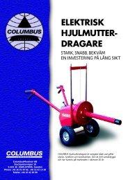 ELEKTRISK HJULMUTTER- DRAGARE - Columbusmaskiner AB