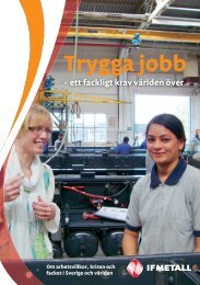 Trygga jobb - IF Metall