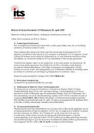 Referat bestyrelsesmøde 200405 - ITS Danmark