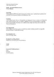 Instruktion för brandkontroll - SISAB