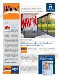 Download de Whowkrant. - Reynaers Aluminium