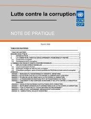 Lutte contre la corruption - pogar