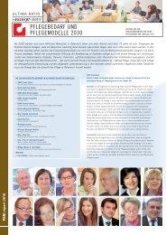 Pflegebedarf und Pflegemodelle 2030 - Barmherzige Schwestern ...