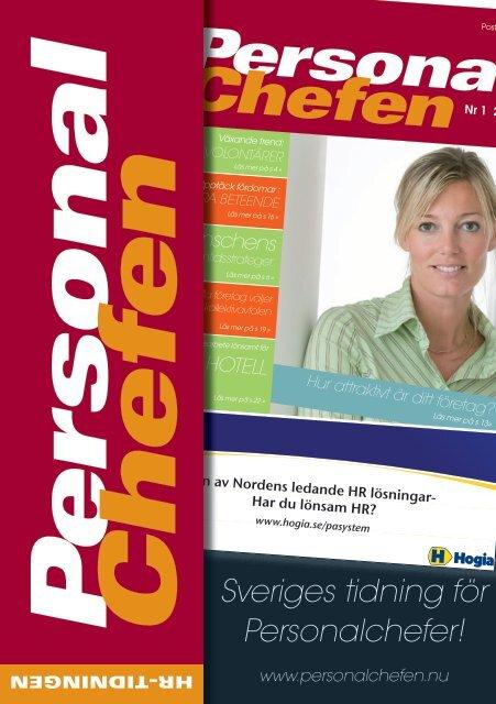 Sveriges tidning för Personalchefer! - Fronthill Media AB