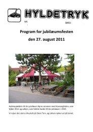 Hyldetryk om jubil%E6umsfesten 2011 (2) - Hyldenet