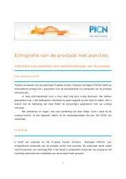 Echografie van de prostaat met puncties - Canisius-Wilhelmina ...