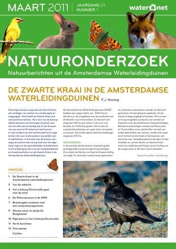 Natuuronderzoek 2012 01 - Waternet
