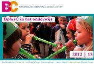 download hier de brochure 2012 - 2013 - Cultuureducatie Leiden