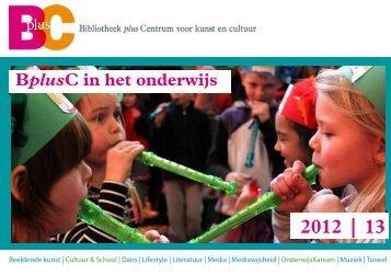 download hier de brochure 2012 - 2013 - Cultuureducatie Leiden
