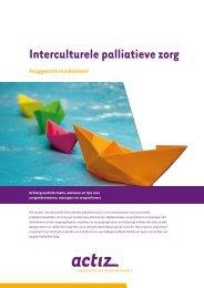 Brochure Interculturele palliatieve zorg - Bureau Kwiek