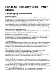 Håndbog i kulturpsykologi - Peter Elsass