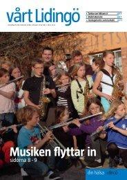Musiken flyttar in - Lidingö stad
