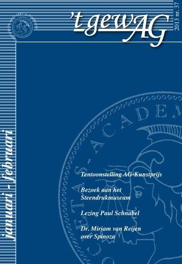 jan-feb - Academisch Genootschap
