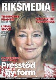 KREATIVITET I DAGSPRESS TIDnInGEnS fRAmTID ... - Riksmedia