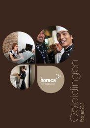 Brochure werknermers opleidingen voorjaar 2012 - HorecaNet ...