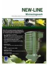 New-line biologiska minireningsverk för privathushåll - ACITEX ...
