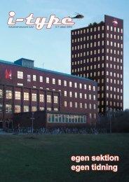 egen sektion egen tidning - Sektionen för Industriell ekonomi vid ...