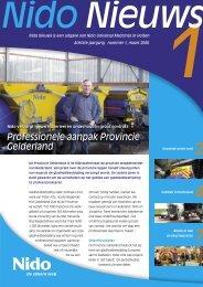 Professionele aanpak Provincie Gelderland - Aebi Schmidt