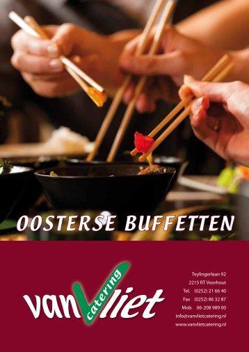 ooSterSe buffetten - Van Vliet catering