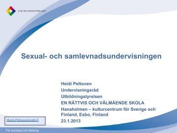 Workshop Heidi Peltonen - Hanaholmen