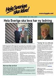 Läs mer.dpf - Hela Sverige ska leva