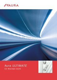Aura Ultimate Long Life Broschüre - Aura Light