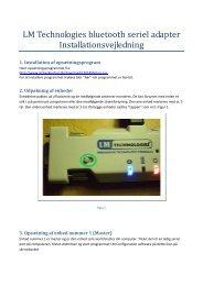 LM Technologies bluetooth seriel adapter ... - StokerKontrol