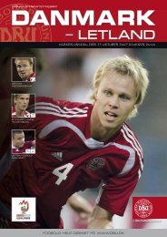 Danmark-Letland - DBU