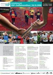Anmeldung zum VGF–Staffelmarathon des Dresdner Kleinwort ...