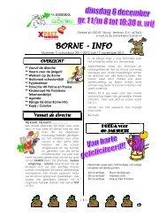 Borne-info 2011-11-17 nr. 7 - Xpect Primair