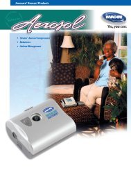 Invacare® Aerosol Products - Mobility Express
