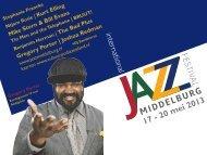 BRUUT! - International Jazz Festival Middelburg
