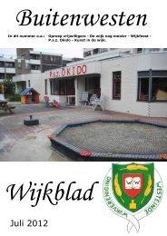 Wijkkrant juli 2012 - Wijkvereniging Westeinde