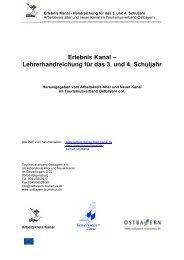 Erlebnis Kanal - Tourismusverband im Landkreis Kelheim