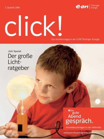 Click! - E.ON Thüringer Energie - E.ON Thüringer Energie AG