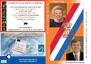 Klik hier... - Oranjevereniging Driebergen - Rijsenburg
