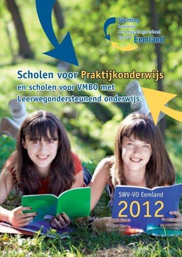 Scholen voor Praktijkonderwijs Scholen voor ... - swveemland.nl