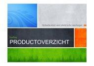 Presentatie Productgamma (PDF) - EcoPlug