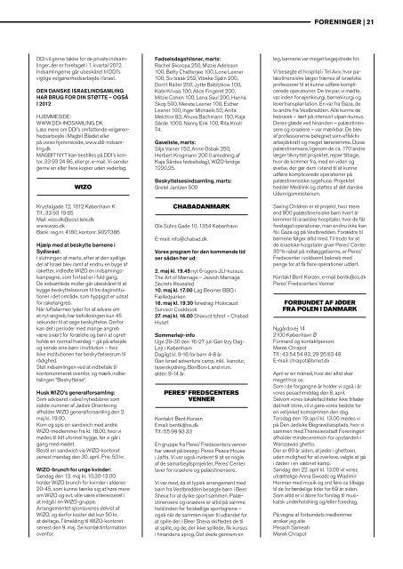 Jødisk Orientering maj 2012 - Det Mosaiske Troessamfund