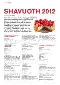 Jødisk Orientering maj 2012 - Det Mosaiske Troessamfund - Page 6