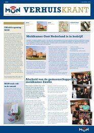 MON-verhuiskrant - Veiligheidsregio IJsselland