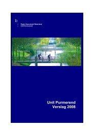 07.1b Verslag politie 2008 - Gemeente Purmerend