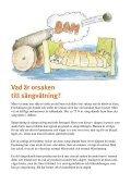Frågor och svar om sängvätning - Sangvatning.nu - Page 3
