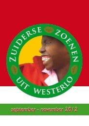 september - november 2012 - Gemeente Westerlo